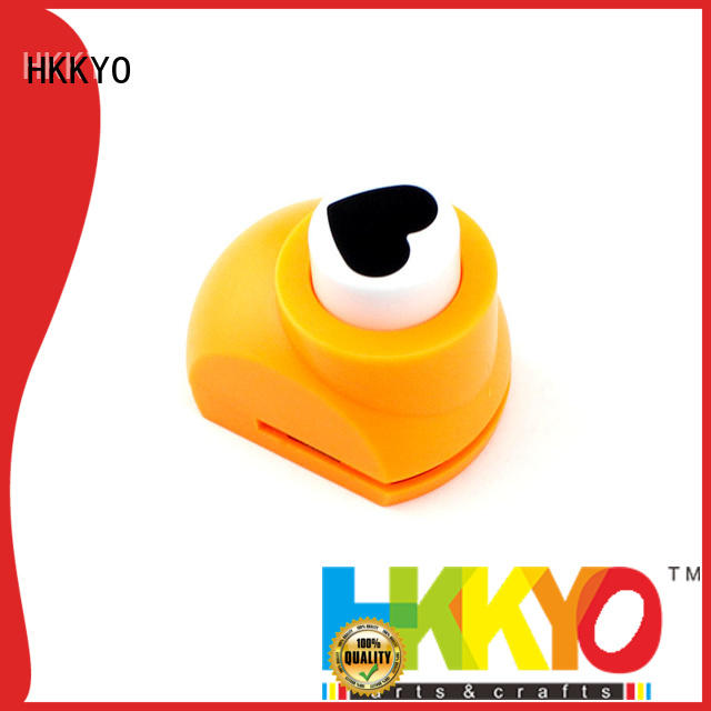HKKYO colorful paper punches for scrapbooking supplier for paper