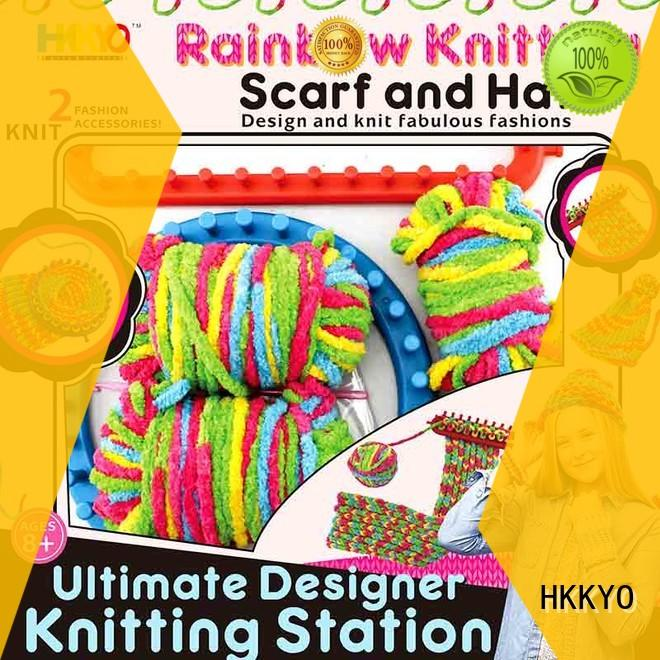 HKKYO plastic knitting needles scrapbook kits for sale Suppliers for knit craft