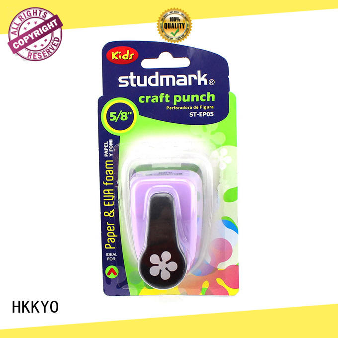HKKYO ABS & Zinc Alloy paper shape punch wholesale for cell phone decoration