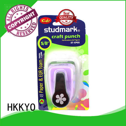 HKKYO easy to use paper shape punch wholesale for cell phone decoration