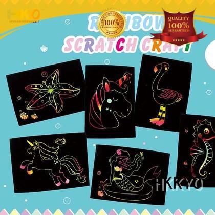 HKKYO mermaid kit craft colorful for birthday cards