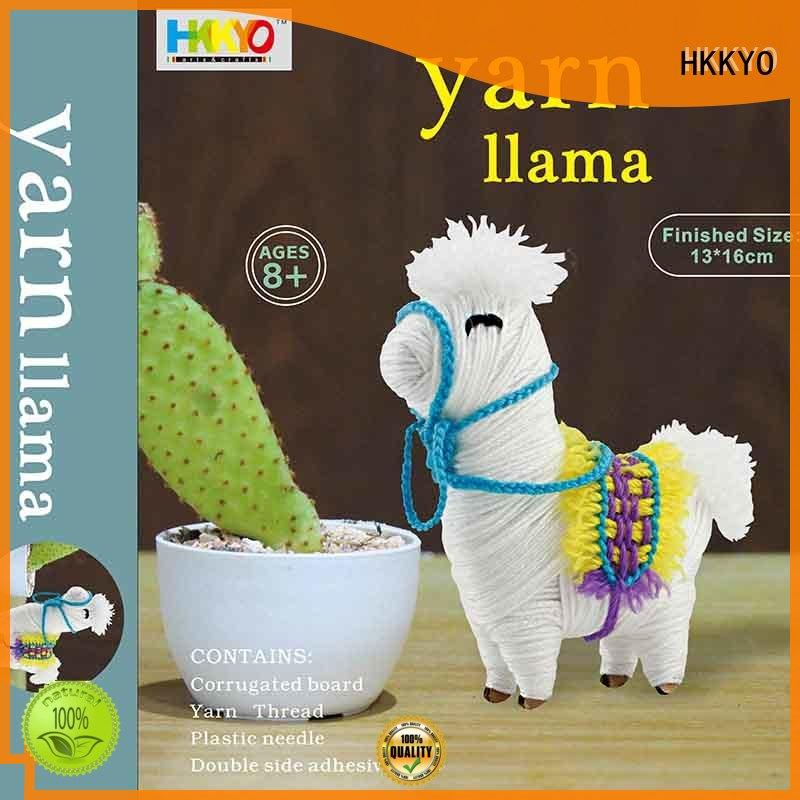HKKYO colorful craft set educational for family activities