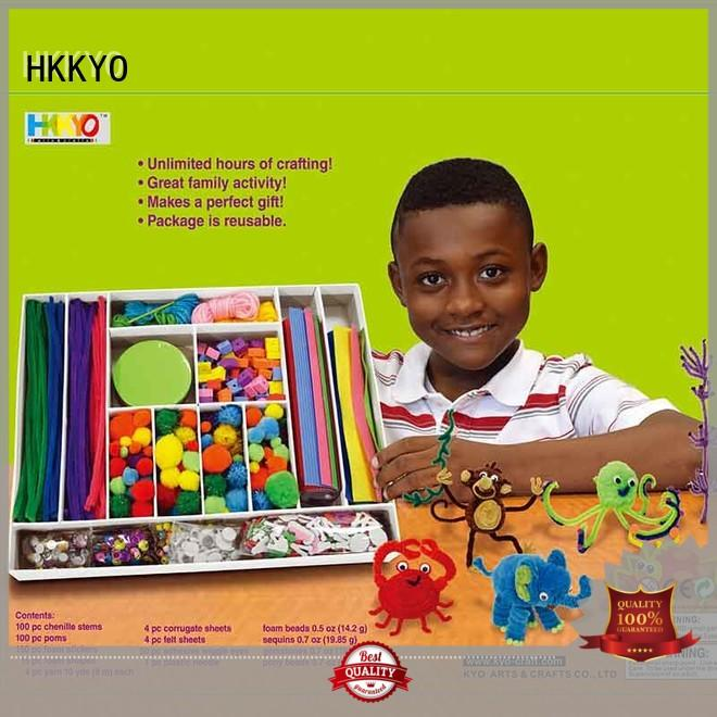 toy craft kits paper chenilles for greeting cards HKKYO