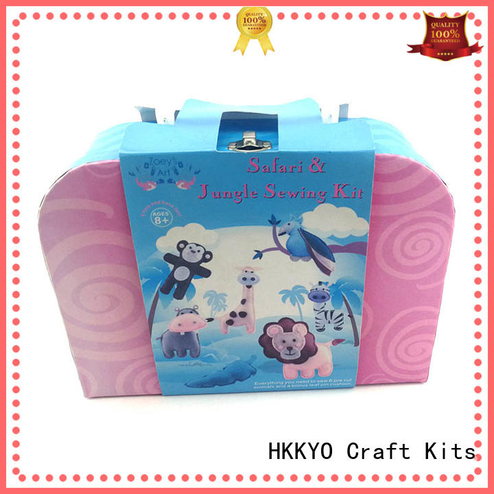 HKKYO lovely diy craft kits precut for girls