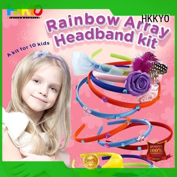 HKKYO fashion craft sets for kids do-it-yourself for head