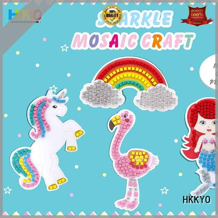 HKKYO Wholesale craft kits for kids company for gifts