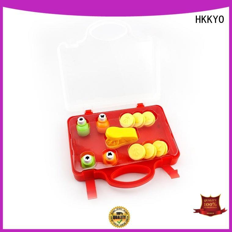 scrapbook paper punch set educational for kids craft HKKYO