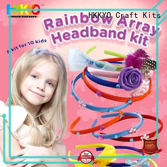 HKKYO hair accessories scrapbook page kits for business for DIY craft