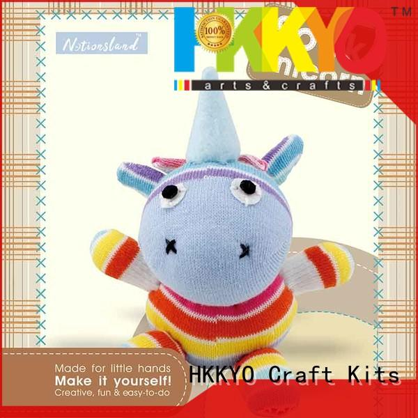 HKKYO hands-on complete scrapbook kit supplier for children