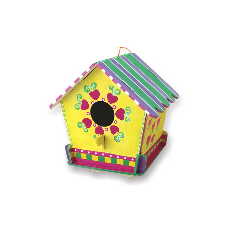 HKKYO wooden MDF craft kits for girls manufacturer for painting craft-craft punch, craft kits,statio