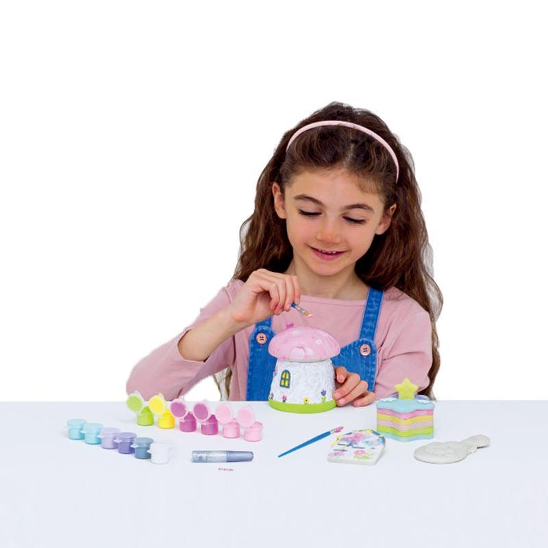 Paint Color Your Own Unicorn & Fairly Door Craft Kit