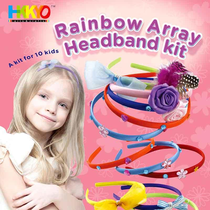 Make Your Own Fashion Headbands Hair Accessories Craft Kit