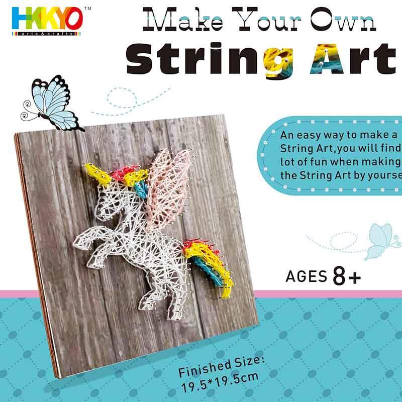 Make Your Own Unicorn String Art Craft Kit