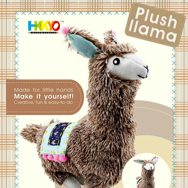 Alpaca Llama Picnic Plush Sewing Stitching Animal Craft Kit