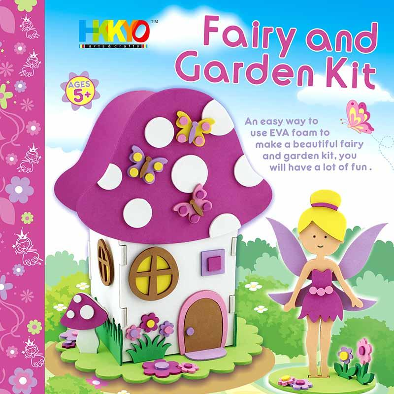 Foamies Fairy House Garden Craft Kit