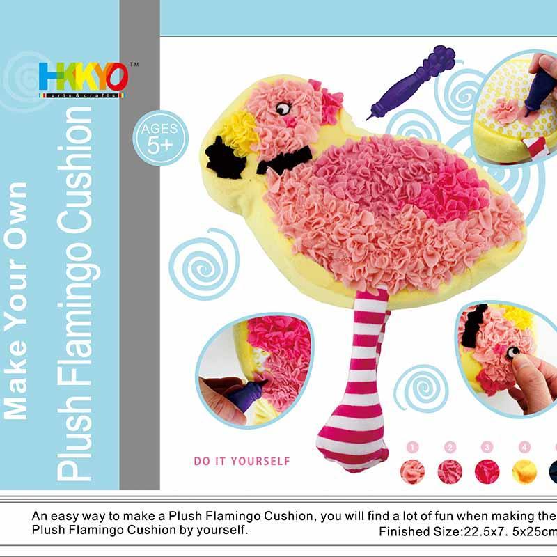 Plush Craft Flamingo Pillow