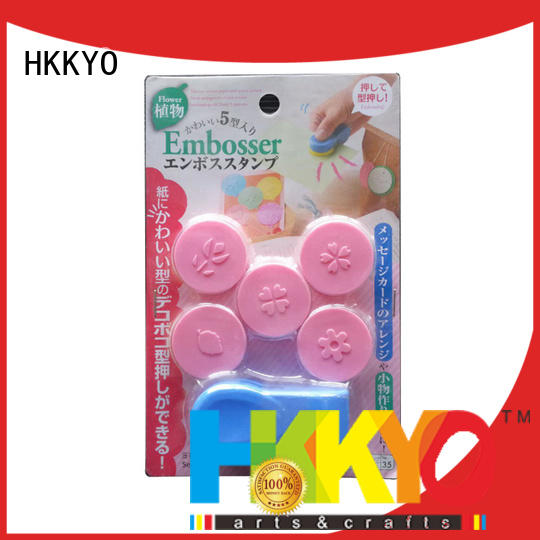 many colors arts and crafts tools ABS for scrapbook pages HKKYO