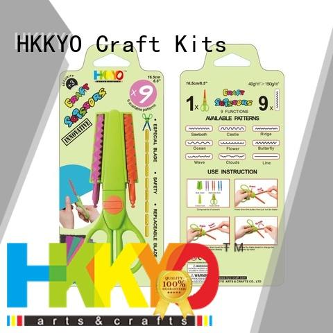 HKKYO Wholesale craft scissors Supply for DIY crafts