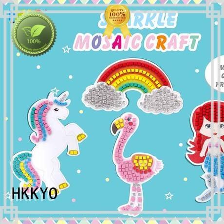 HKKYO rainbow kit craft factory for greeting card