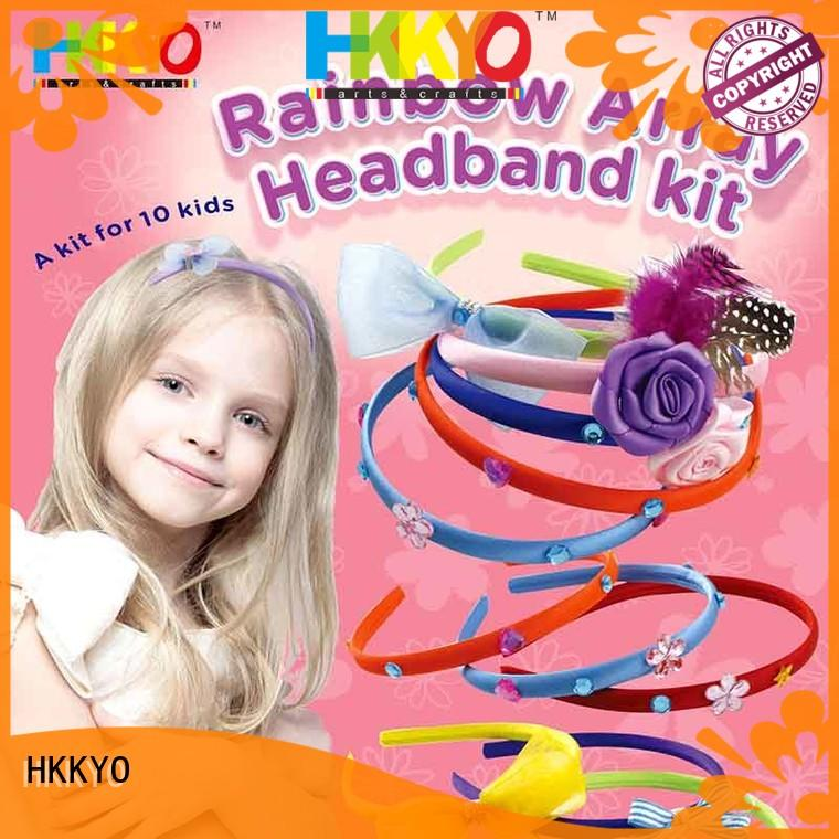 adorable arts and crafts kits headbands manufacturer for Christmas gift
