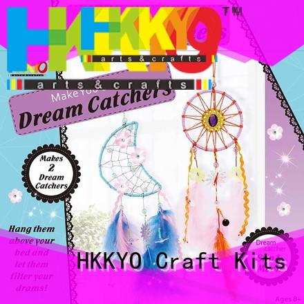 HKKYO creative arts and crafts kits innovative for kids