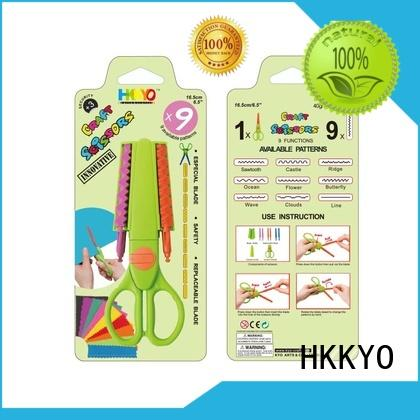 HKKYO blade craft scissors shapes for business for art & craft lovers