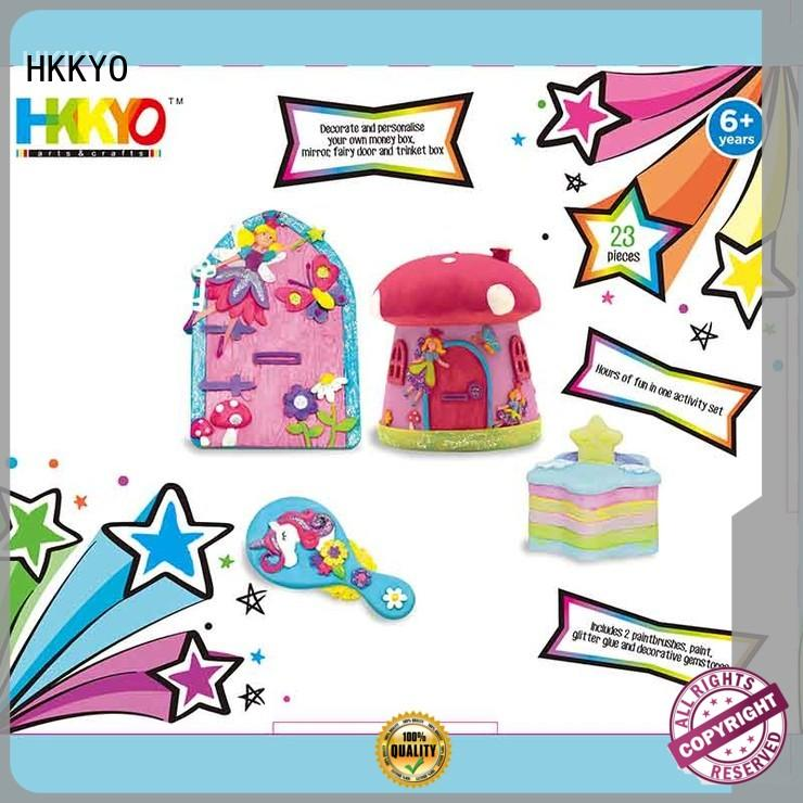 HKKYO stone scrapbooking kits do-it-yourself for painting craft