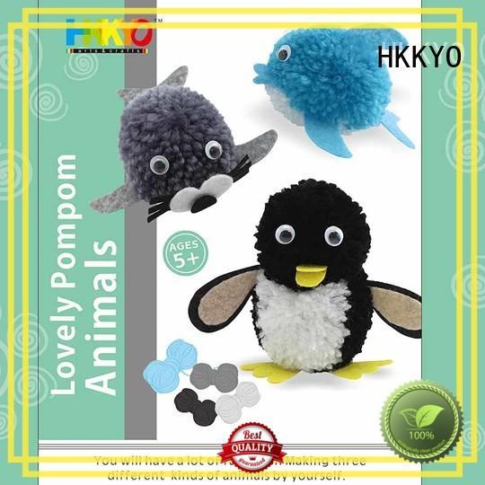 HKKYO yarn craft kits manufacturer for DIY craft