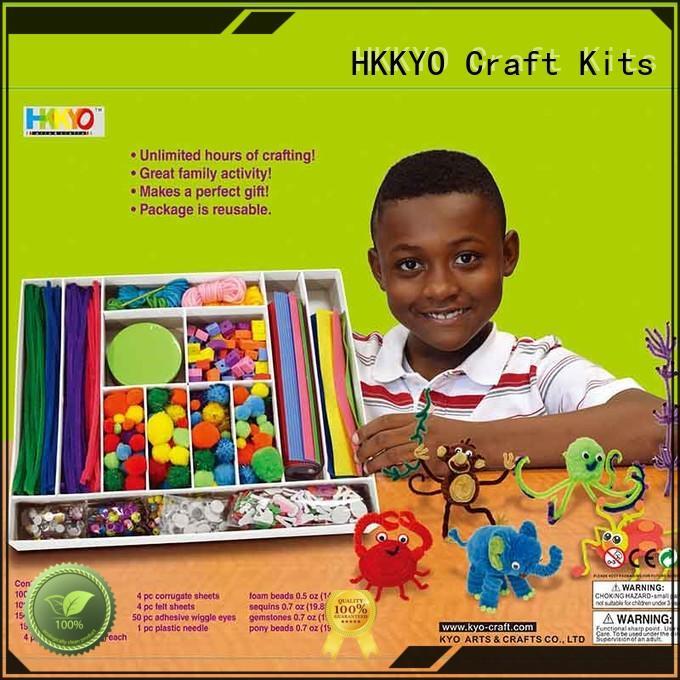 HKKYO creative scrapbooking set supplier for family activity