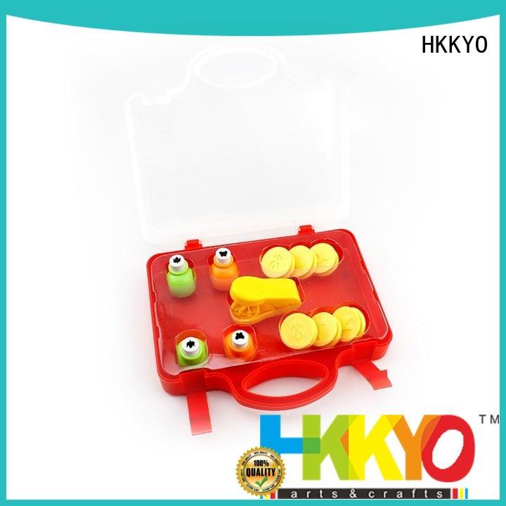 HKKYO creative mini craft punch set educational for greeting card