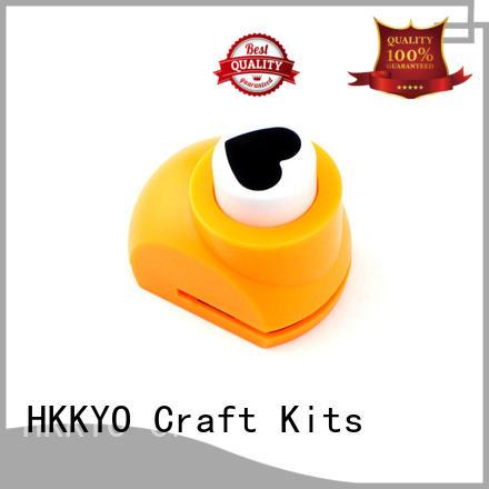 HKKYO paper shape craft scrapbook punches manufacturer for kids DIY artwork