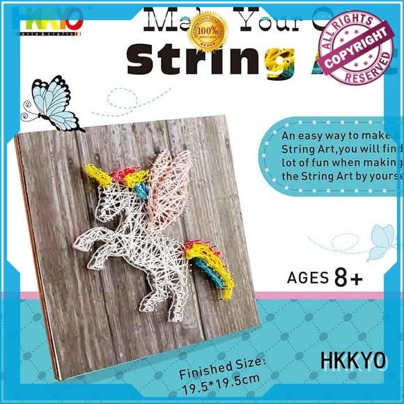 HKKYO Latest craft sets for girls manufacturers for birthday gifts