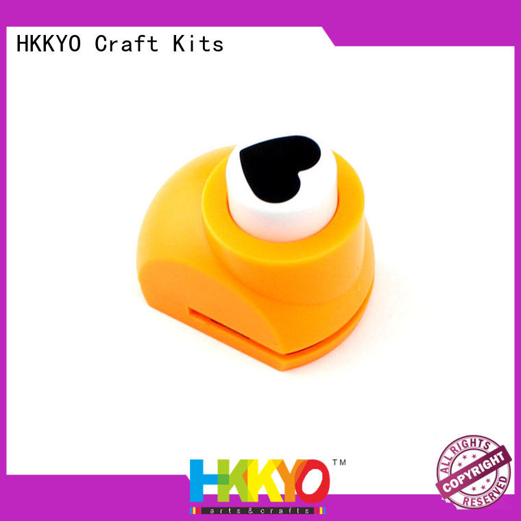 HKKYO easy-to-do paper punch shapes supplier for paper