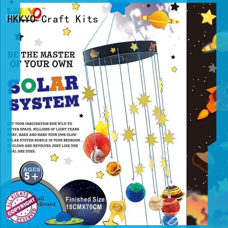 HKKYO planets craft kits for girls model paint for gifts