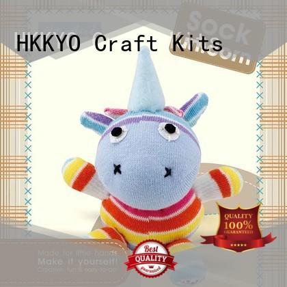 HKKYO creative craft sets for boys supplier for DIY craft