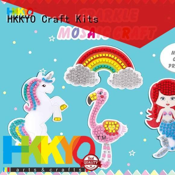 HKKYO sticky craft kits manufacturer for greeting card
