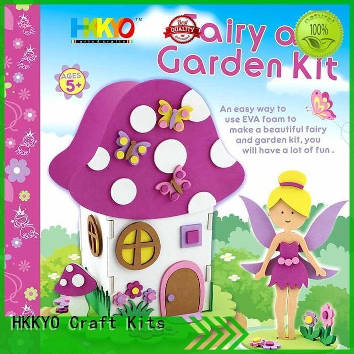 HKKYO creative craft kits for kids manufacturer for holidays