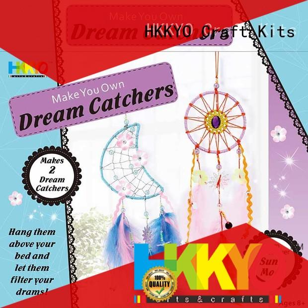 HKKYO steel christmas craft kits educational for gifts