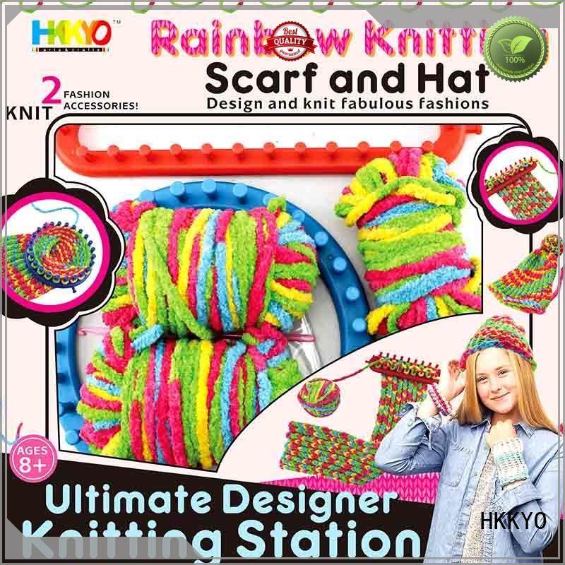 thick rainbow yarn paper craft kits for kids fabulous HKKYO