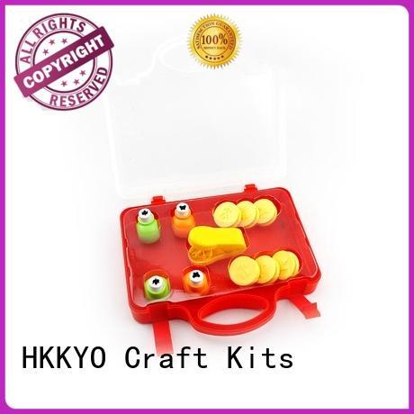 HKKYO funny craft punch set long service life for DIY scrapbook