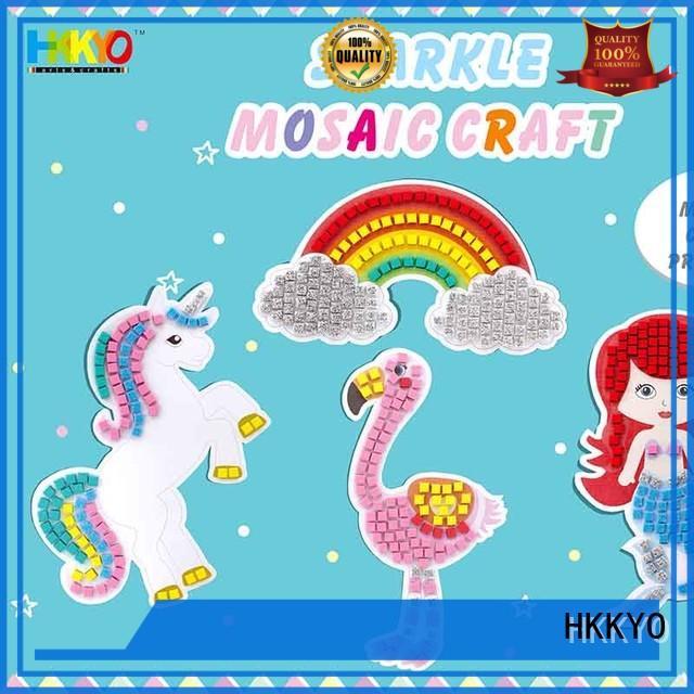 HKKYO mermaid craft kits creative for DIY crafts