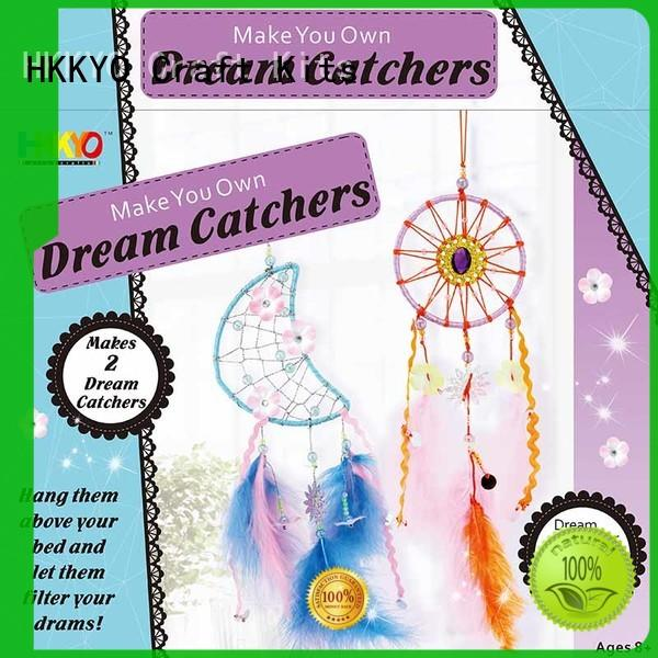 HKKYO dream catcher arts and crafts kits wholesale for kids
