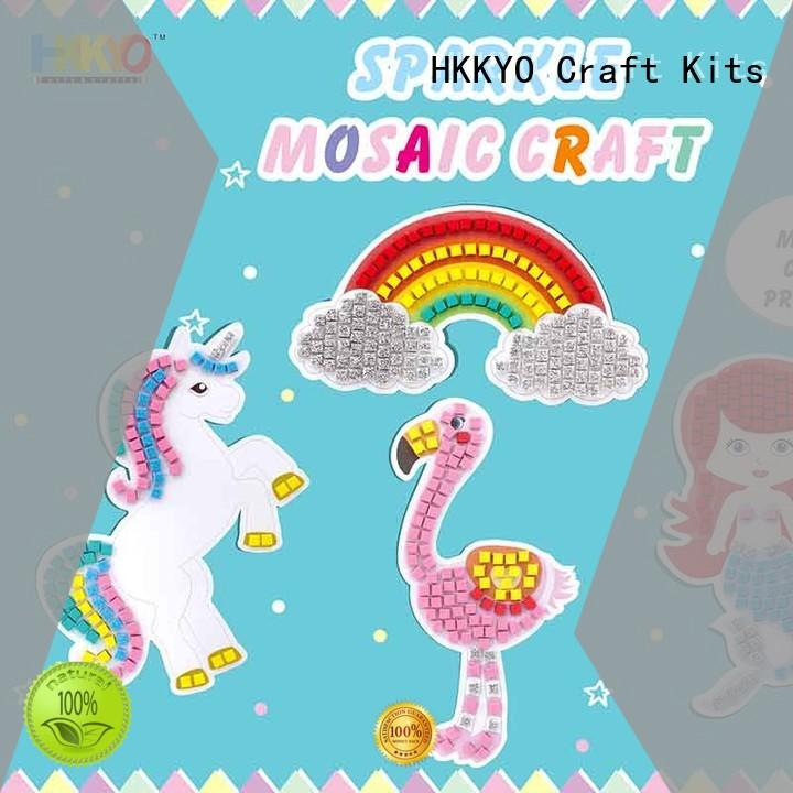 HKKYO beautiful kit craft colorful for DIY crafts