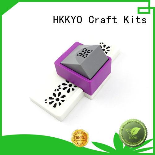 HKKYO embossing craft punching machine long service life for DIY scrapbook