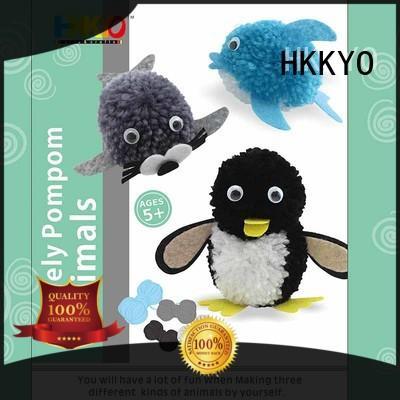 HKKYO wiggle eyes craft kits educational for birthday gifts