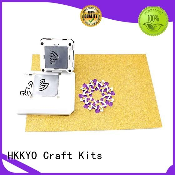 HKKYO beautiful craft punch diamond shape for birthday cards