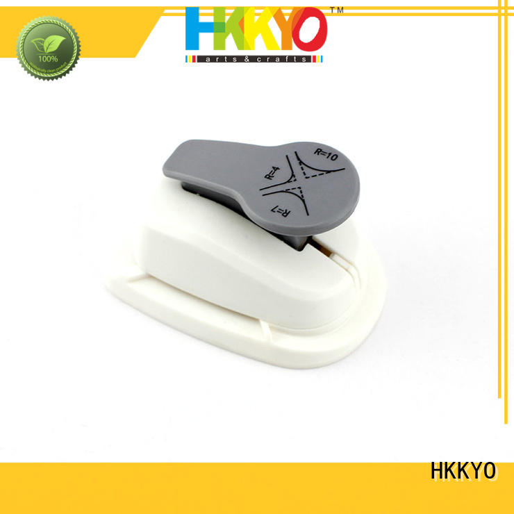 HKKYO sturdy craft hole punch easy storage for cards