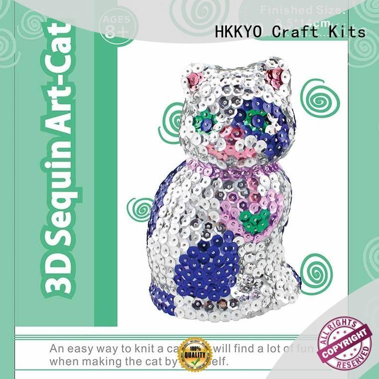 HKKYO creative art craft set wholesale for family activities