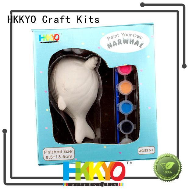 HKKYO narwhal craft sets for kids manufacturer for decoration
