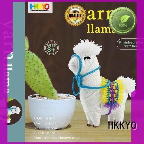 HKKYO creative diy craft kits for kids flamingo for teenager